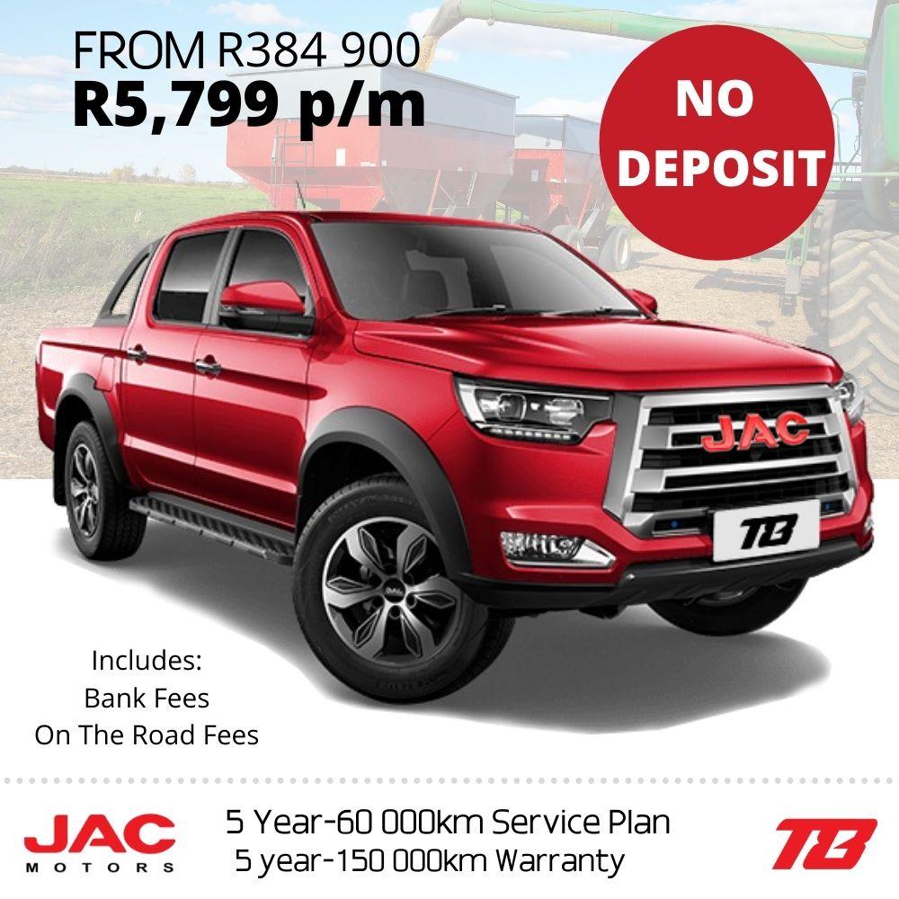 JAC T6 deal - JAC Motors SA