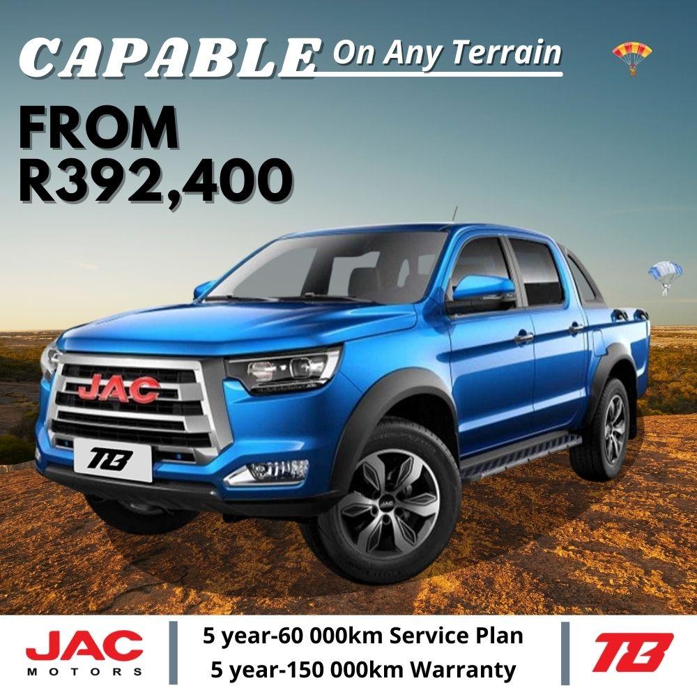 JAC T8 deal - JAC Motors SA